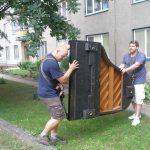 Stěhování pian Brno